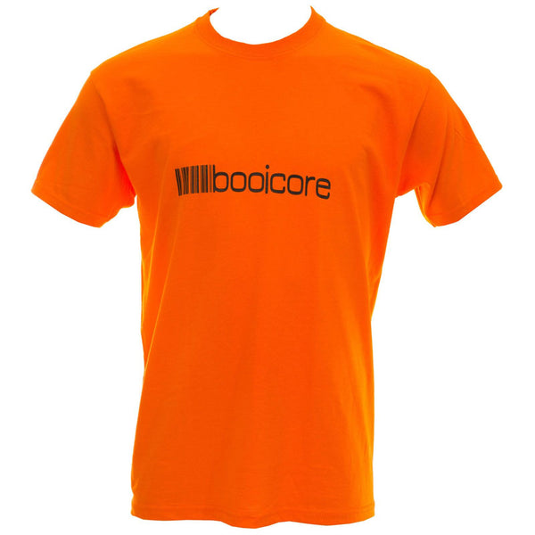 Orange booicore Original Logo Tee