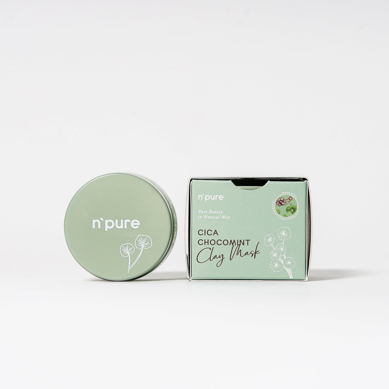 NPURE Cica Chocomint Clay Mask