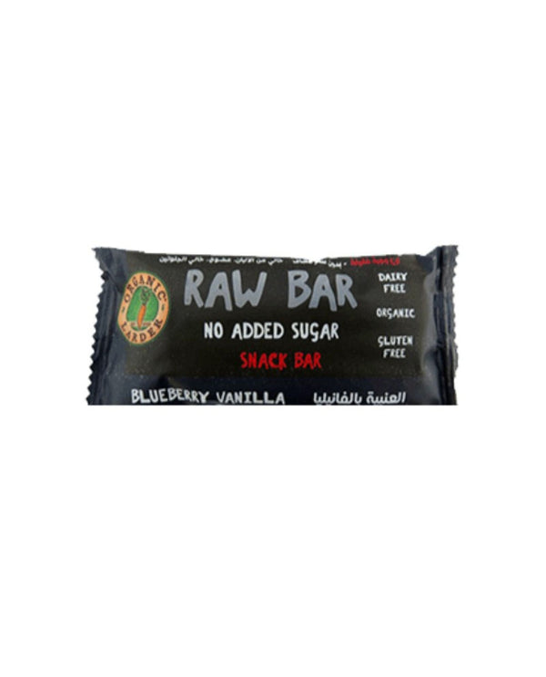 ORGANIC LARDER Blueberry Vanilla Snack Bar