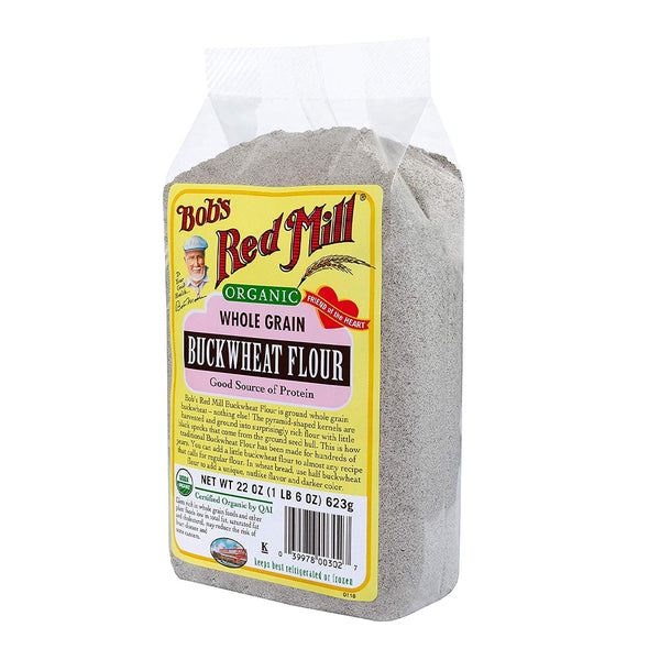 BOB'S RED MILL Whole Grain Buckwheat Flour
