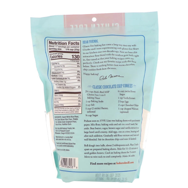 BOB'S RED MILL 1 To 1 Baking Flour, 623gm