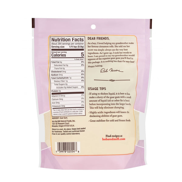 BOB'S RED MILL Guar Gum, 227gm