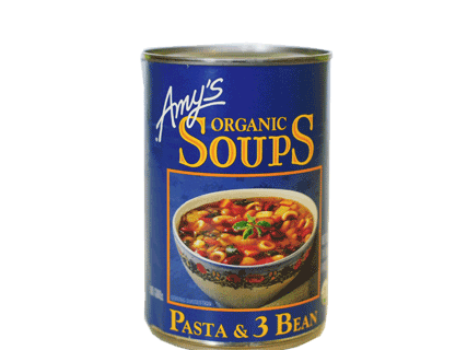 AMY'S Soups Pasta And 3 Bean, 400gm