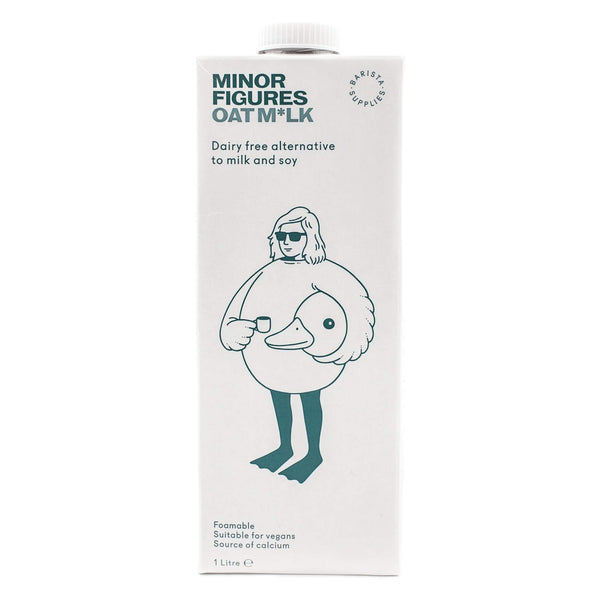 MINOR FIGURES Barista Oat Milk, 1l - Vegan, Dairy-free