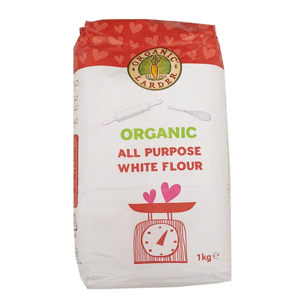 ORGANIC LARDER All Purpose White Flour, 1kg'