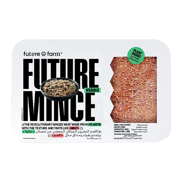 FUTURE FARM Plant Based Minced Veggie, 270g - Vegan, Cholestrol-free, Antibiotics-free, Gluten-free