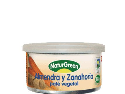 NATURGREEN  Vegetable Almond Pate With Carrot