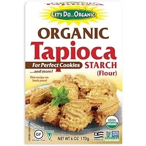 EDWARD & SONS, Let's Do Organic, Organic Tapioca Starch, Gluten-Free , Vegan 170g