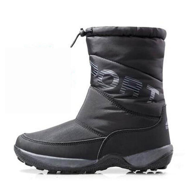 Women's Thick Waterproof Snow Boots