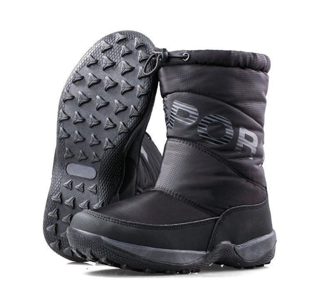 Women's Thick Waterproof Snow Boots - ByDivStore