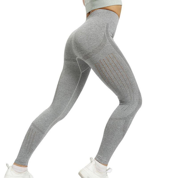 Breathable High Waist Fitness leggings - ByDivStore