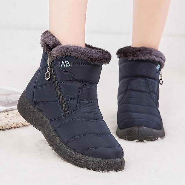 Women's Warm Waterproof Snow Boots