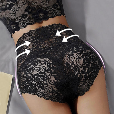 Women's Floral Lace Panties - ByDivStore