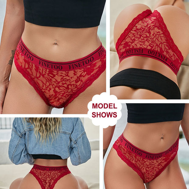 Women's 3Pcs Lace Panties - ByDivStore