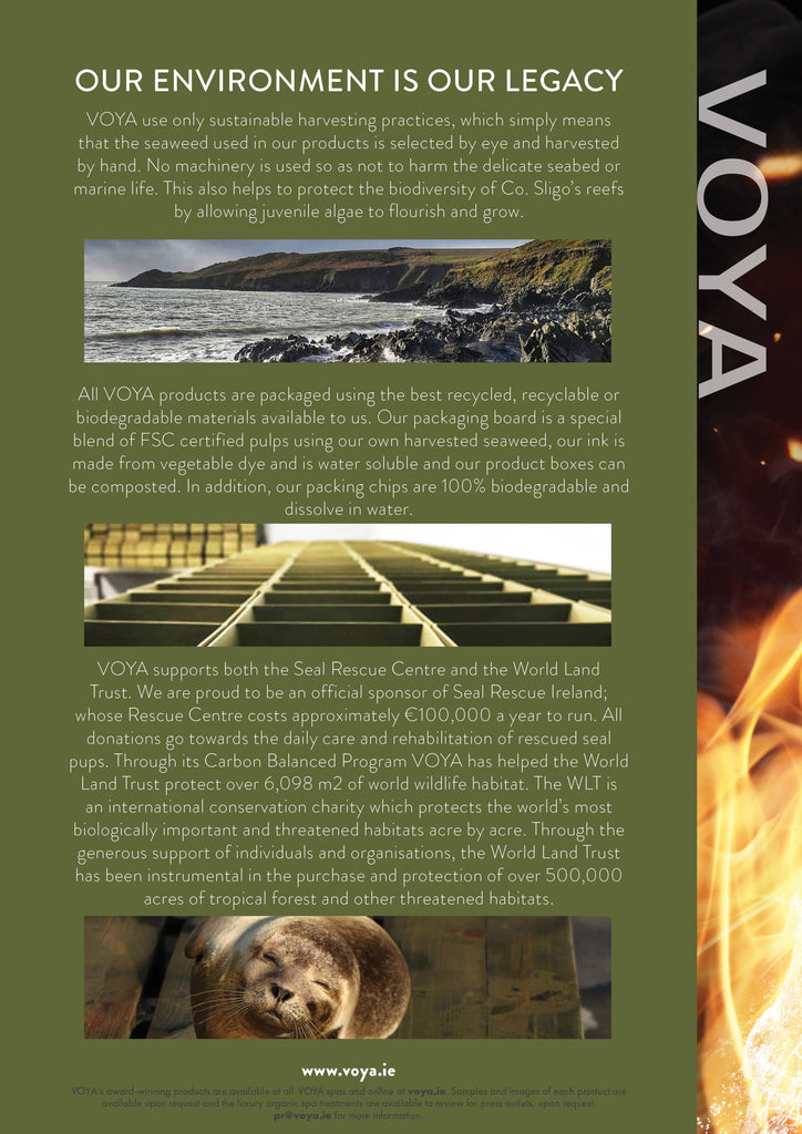 Voya Organic Beauty donates to the WIRES Australian fires wildlife rescue fund
