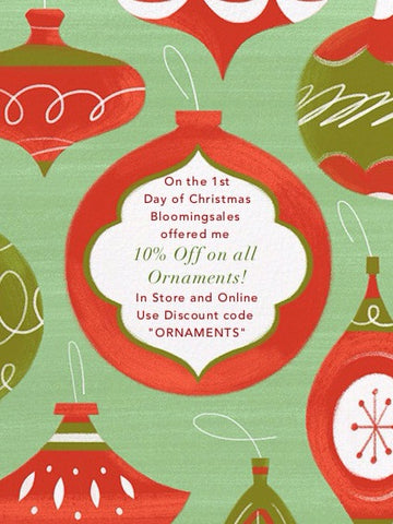 we are so excited to announce for the next 12 days december 1st through the 12th we will have an item everyday that is on sale to bring some holiday cheer - When Is The First Day Of Christmas