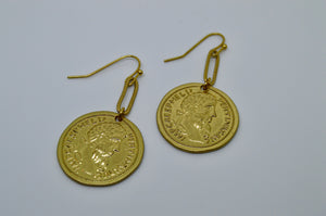 Coin Dangly earrings
