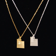 Load image into Gallery viewer, State Necklaces in Gold and Silver
