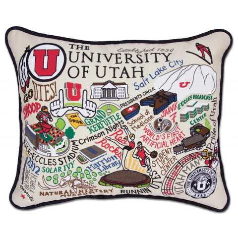Hand Stitched Collegiate Pillows