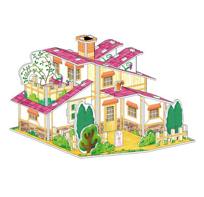 Jigsaw 3d puzzle A farm House