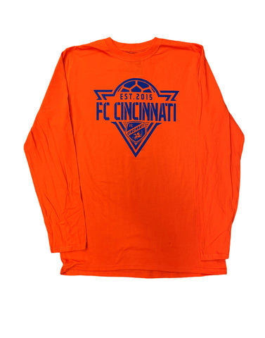 Phalanx Long Sleeve  Orange