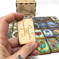 <transcy>Sawyer&#39;s Lenormand-tegels</transcy>