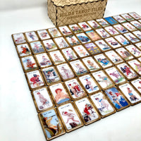 Carreaux de tarot Hilda - Collaboration avec Esther Joy