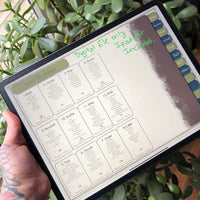 Digital Download Lenormand Layouts pour GoodNotes ou Notability