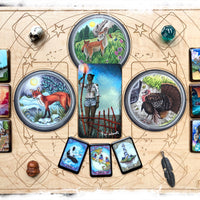 Multi Divination System Casting Board