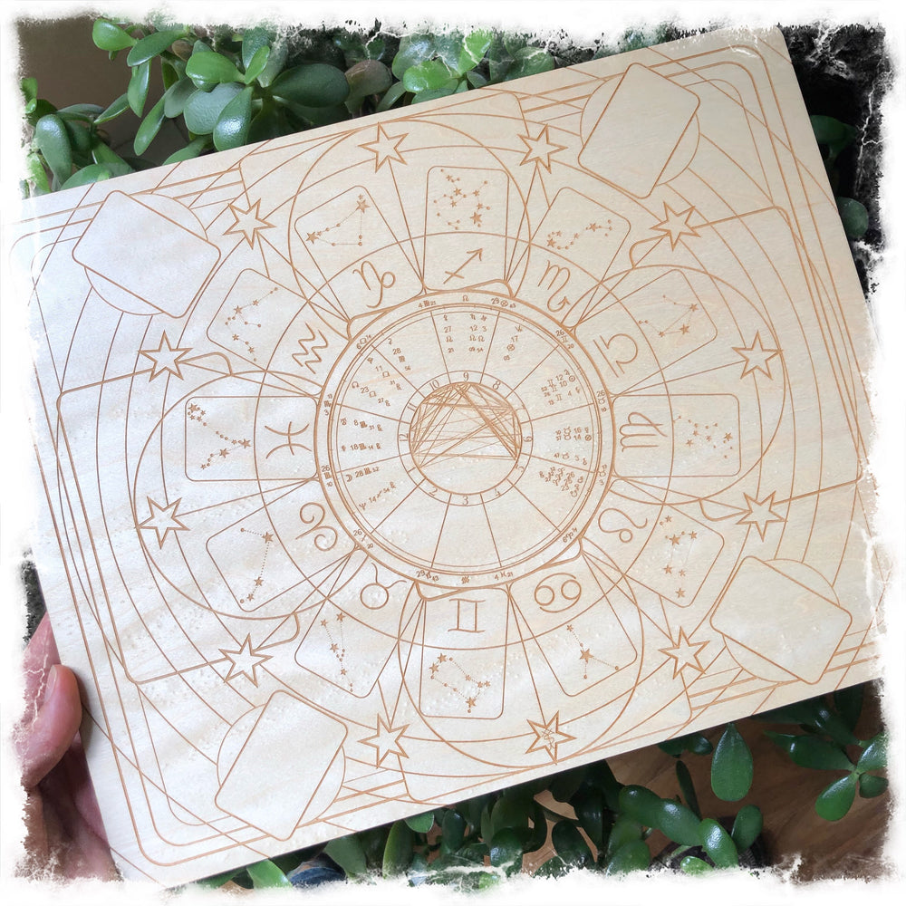 Natal Chart - Personalized Multi System Casting Board