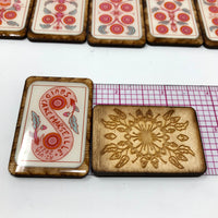 Squid Cake Marseille Tarot Tiles- Collab with Jess Rollar