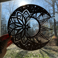 Crescent Moon Witchy Wall Decor