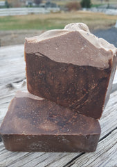 Oatmeal Stout and Lavender Handcrafted Beer Soap