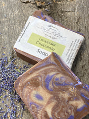 Lavender Chocolate Soap