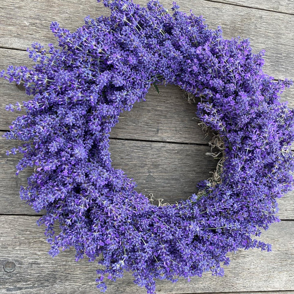 Lavender Wreath   / Local Pick up only
