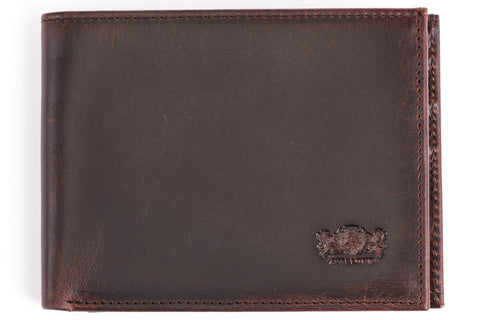 Antique Bi-Fold Mens Leather Wallet