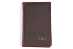 Antique Front Pocket Mens Leather Wallet - Avallone - 2