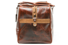 Antique Leather Weekender Bag - Avallone - 4