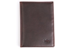 Antique Passport Holder Leather Wallet - Avallone - 2