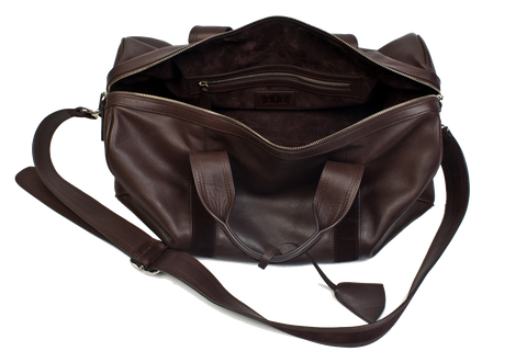Inside Pocket – A classic weekender will not have compartments on the  inside – however it should have at least one pocket for important  paperwork b21160f941350