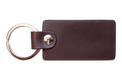 Italian Leather Keychain - Brown - Avallone - 2