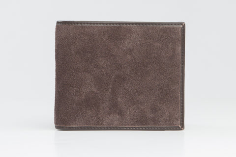 Italian Classic Bi-Fold Mens Leather Wallet - Brown