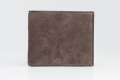 Italian Classic Bi-Fold Mens Leather Wallet - Brown - Avallone - 1