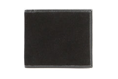 Italian Classic Bi-fold Mens Leather Wallet - Black - Avallone - 1