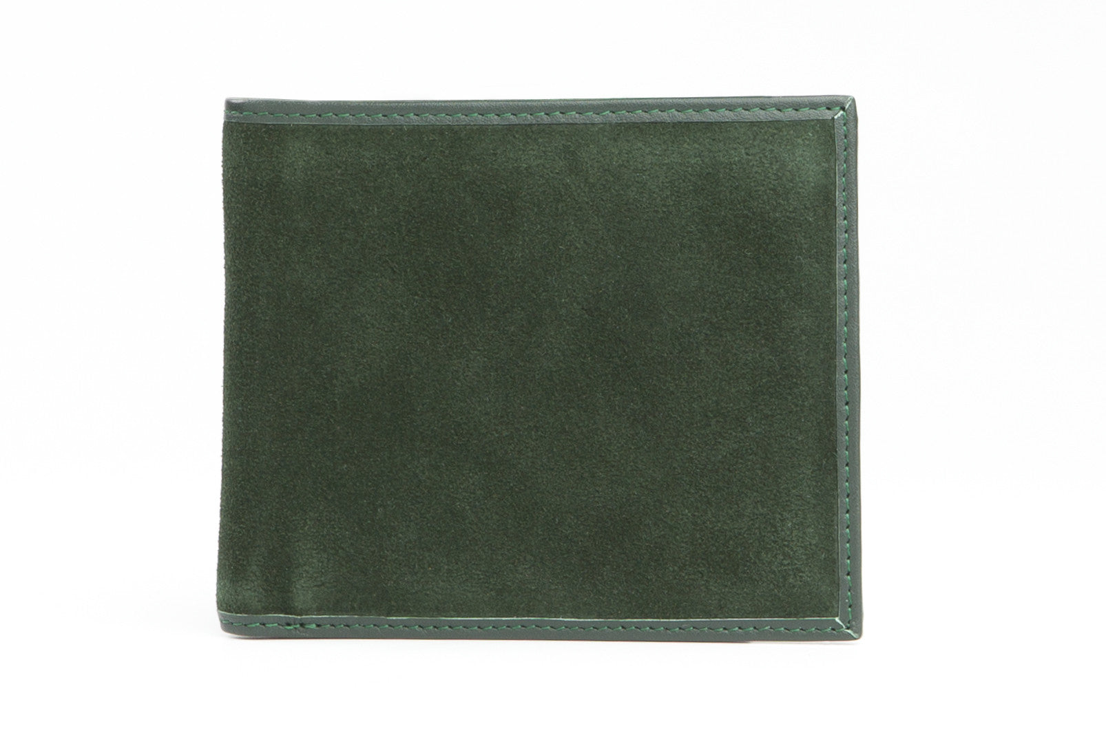 6ff8bfcd208cd Italian Classic Bi-fold Mens Leather Wallet - Forest Green - Avallone - 1