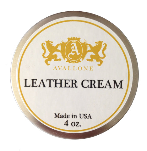 Leather Conditioner Cream 4 OZ.