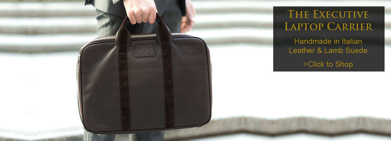 Italian Leather Laptop Bags