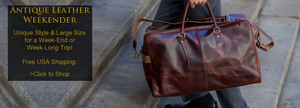 mens handmade leather bags