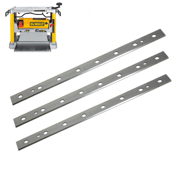 12-1/2-inch HSS Planer Blades for DeWalt DW734, Replace DW7342