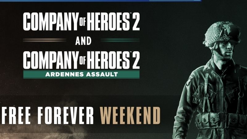 Company of Heroes 2 FREE giveaway by Steam until May 31st (Link)